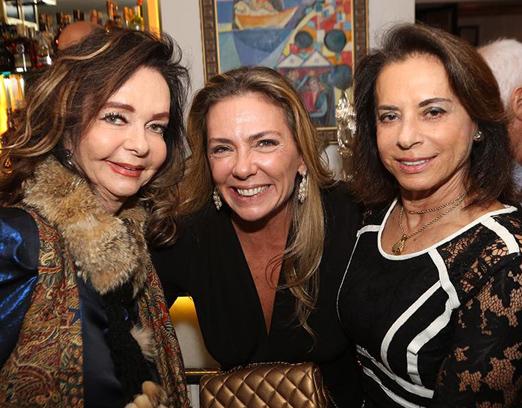 Vera Loyola, Márcia Veríssimo e Yvonne Bezerra de Mello