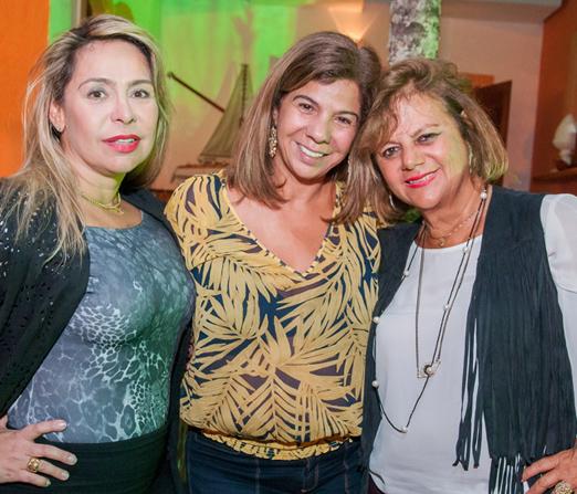 Veronica Berman, Auriete Middleton e Rosana Rodrigues