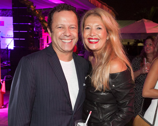Vik Muniz e Donata Meirelles