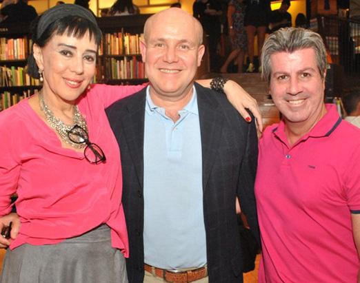 Yacy Nunes, Paulo Muller e Renato Oliveira