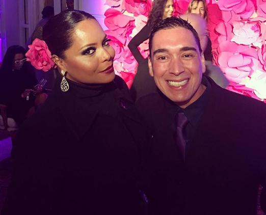 Adriana Bombom e o chef Hugo Oliveira