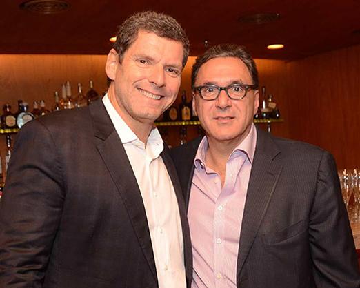 Alexandre Accioly e Rogério Fasano