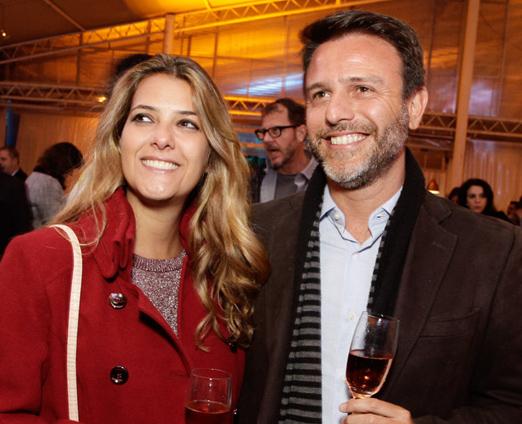 Andrea e Sergio Saad