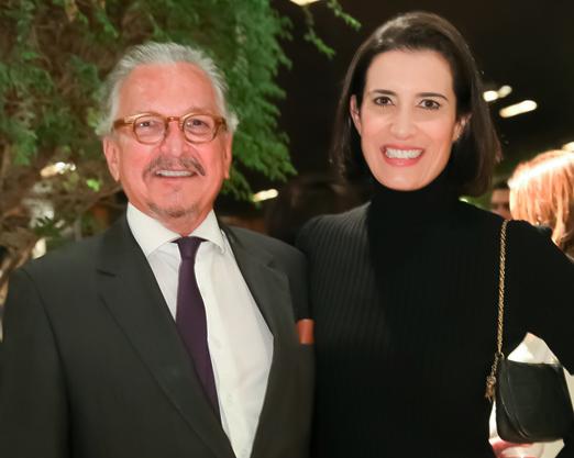 Antenor Barbosa Lima e Flavia Manahu