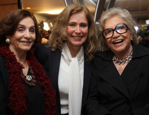 Aracy Cardoso, Priscila Camargo e Nathalia Timberg