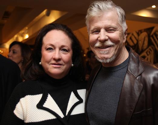 Beth Serpa e Miguel Falabella