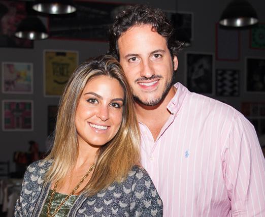 Bruna Cardoso e Jose Piccolloto