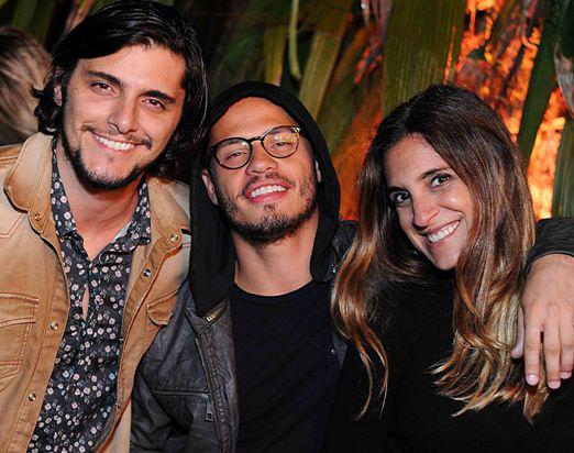 Bruno Gissoni, Fabinho Cal e Val Lastres