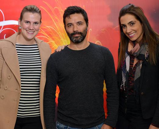 Carina Blaas, Ricardo Lopes e Leticia Arslanian