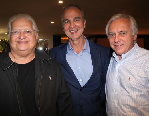 Carlos Alberto Serpa, Jorge Delmas e José Dias