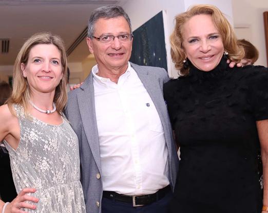 Celine Teppe, José Lopez e Lenny Niemeyer