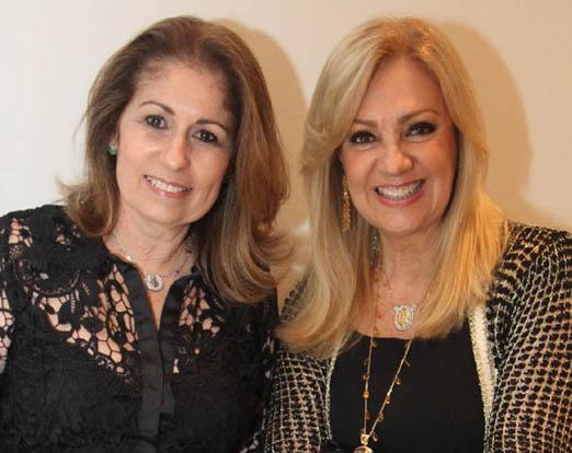 Cristina Lips e Alda Soares