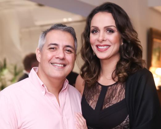 Dudu Carmona e Vanessa Machado