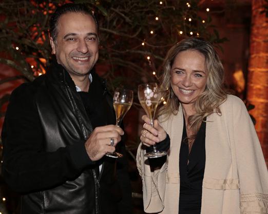 Edrey Momo e Carole Crema