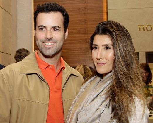Eduardo Scarpa e Julia Murata