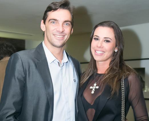 Giba e Maria Luiza Daudt