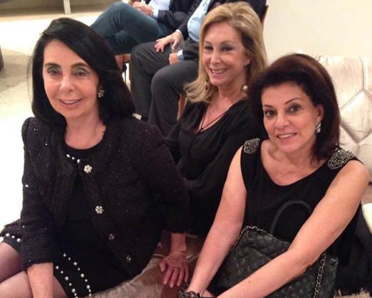 Inês Costa e Silva, Sheila Barros e Paulita Rodrigues