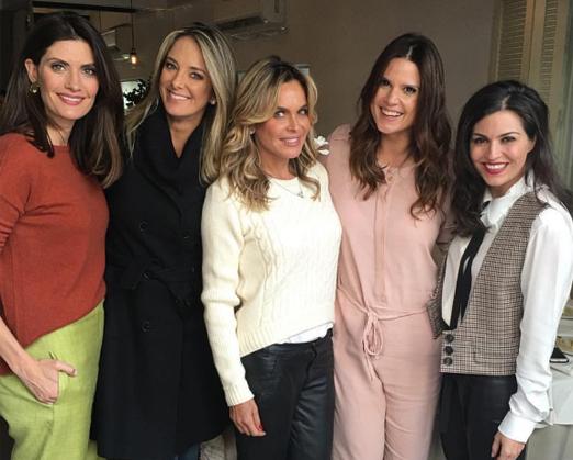 Isabella Fiorentino, Ticiane Pinheiro, Fernanda Barbosa, Mariana Kupfer e Natalie Klein
