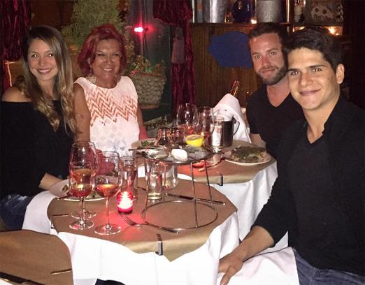 Johanna, Carmen, João e Bruno
