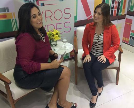 Kátia Saules entrevista Evelyn Montesano