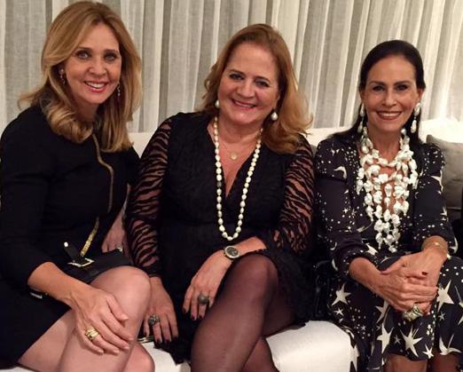 Kátia Spolavori, Renata Fraga e Beth Pinto Guimarães