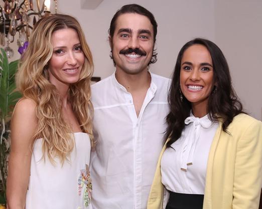 Kate Rozz, Ricardo Pereira e Francisca Pinto