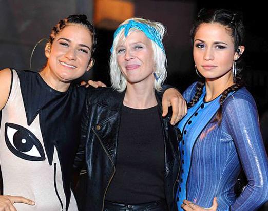 Lan Lan, Nicole Nandes e Nanda Costa