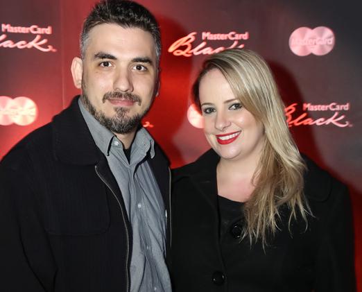 Leonardo Parracho e Dina Kelly