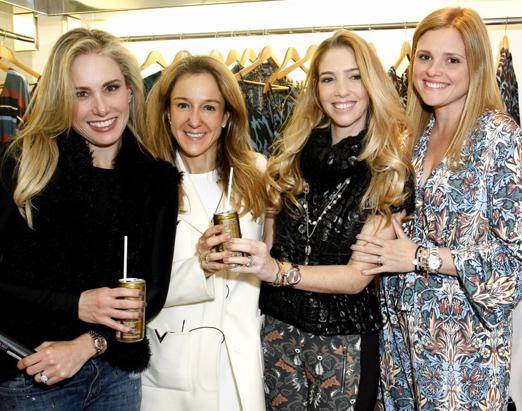 Leticia Levy, Paula Bellotti, Nicole Abramoff e Mariana Elmann
