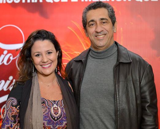 Lu Oliveira e Marcos Apóstolo
