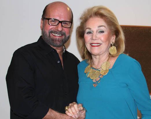 Luiz Felipe Francisco e Idinha Seabra Veiga
