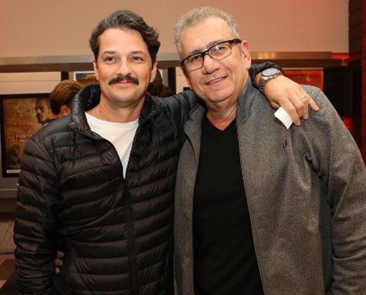 Marcelo Serrado e Mauricio Saade