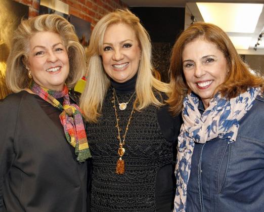 Margareth Padilha, Alda Soares e Fatima Thomaz
