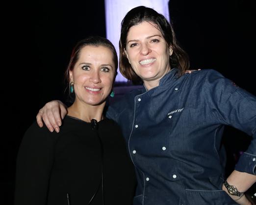 Maria Fernanda Oliva e Mariana Vidal