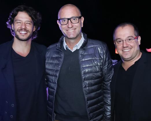 Nando Rodrigues, Alan Crean e Michel Diamant
