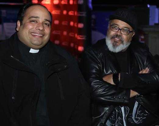 Padre Omar Raposo e Jorge Aragao
