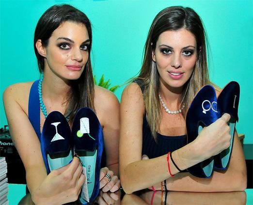 Paula Proushan e Michelle Lima