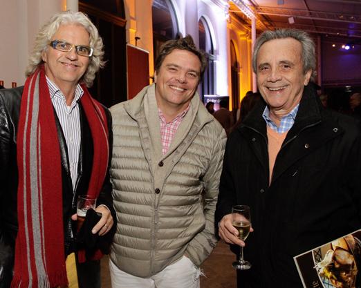 Ricardo Caracas, Caio Monteiro da Silva e Luiz Carlos Foz