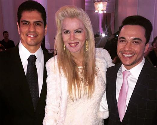 Rodrigo Raposo, Giovanna Priolli e Vinicius Belo