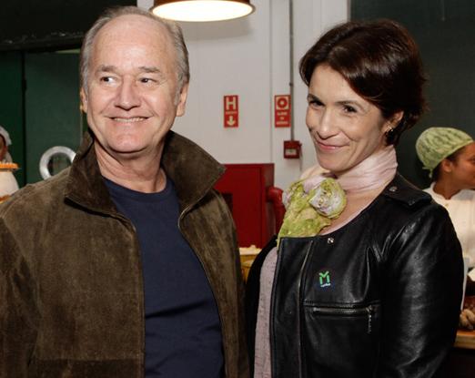 Romulo Fialdini e Carla Fialdini