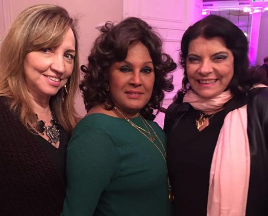 Sumaya Neves, Bete Suzano e Rose May Addario