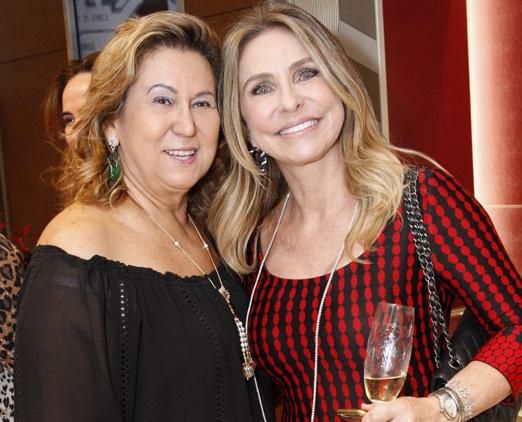 Theresa Macedo e Regina Giacomelli