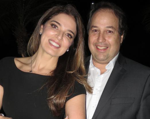 Vanessa de Oliveira e George Fauci