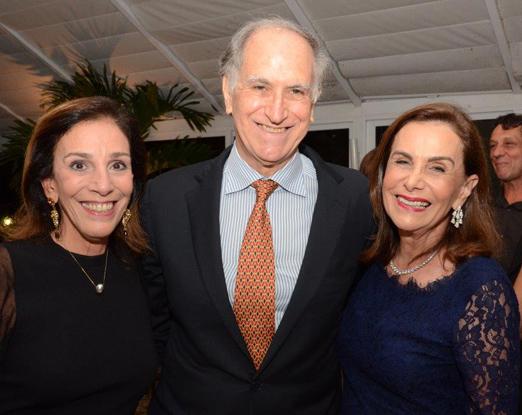 Alicinha Silveira com Juan Carlo e Cecilia Coderch