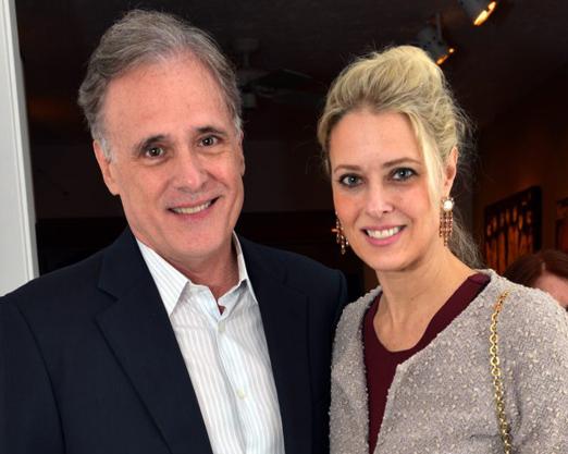Almir Ghiaroni e Georgia Wortmann