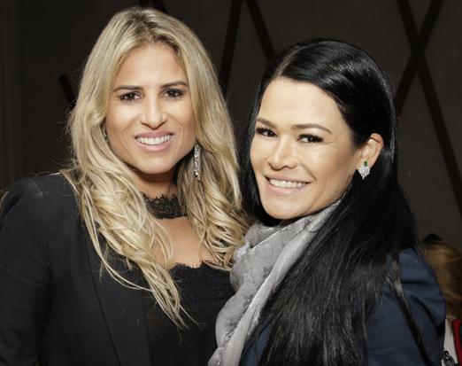 Ana Paula Barbosa e Rosa Leal