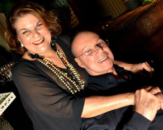 Anna Ramalho e Gilberto Braga