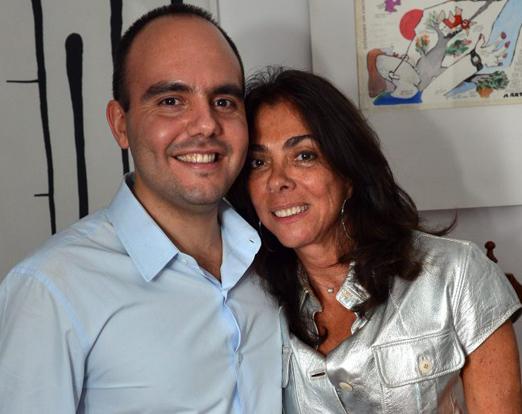 Antonio Paulo e Ana Luiza Rego