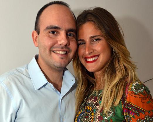 Antonio Paulo e Valentina Seabra