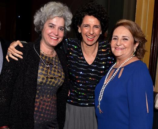 Betina Durovi, Vanja Ferreira e Lucinha Araújo